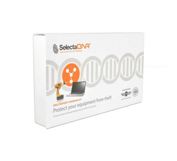 SelectaDNA Virksomhedskit 100 mærkninger med ekstra sikringspakke (Tryg Forsikring)