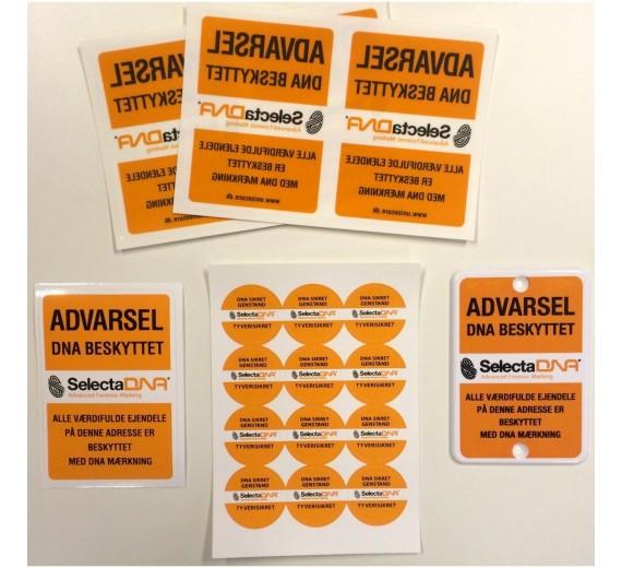 SelectaDNA 25 mærkningskit med ekstra sikringspakke (Tryg Forsikring Erhverv)-01