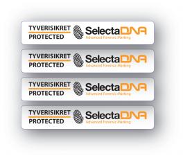 SelectaDNACykelFritidsudstyrssikringsmrke-20