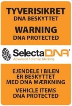 SelectaDNABilSikringsmrke7x10cmTiludvendigmontering-20