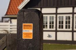 SelectaDNA Dør / Postkasse Sikringsmærke 7 x 10 cm.-20