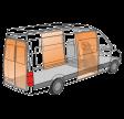 Cargo-Lock varevognssikring H2/H3 2+2