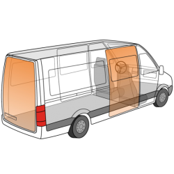 Cargo-Lock varevognssikring H1 1+1